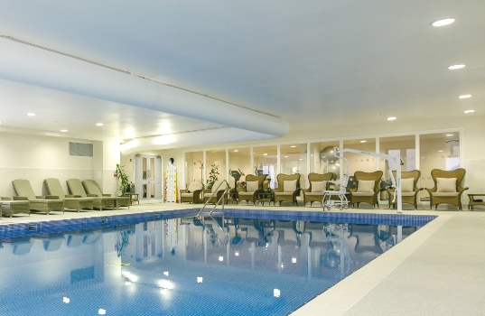 Swimming pool, Lynwood Village Ascot - David Fear electrical contract